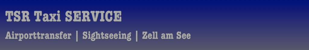 TSR Taxi SERVICE